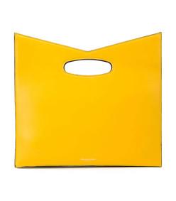 color block hand bag
