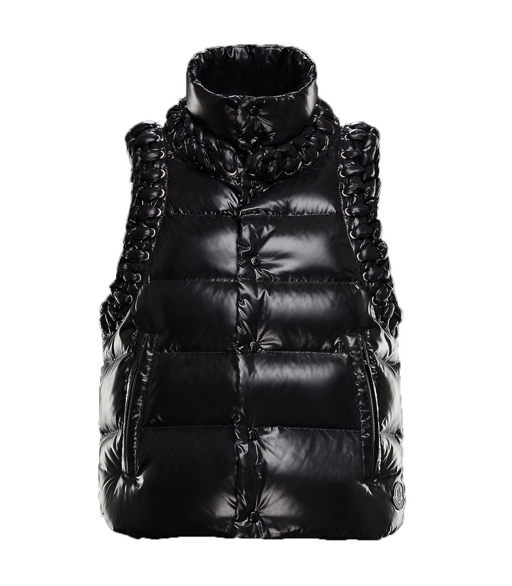 MONCLER GENIUS Black X Noir Agate Vest