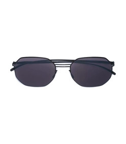 grey x maison margiela octagon shape sunglasses