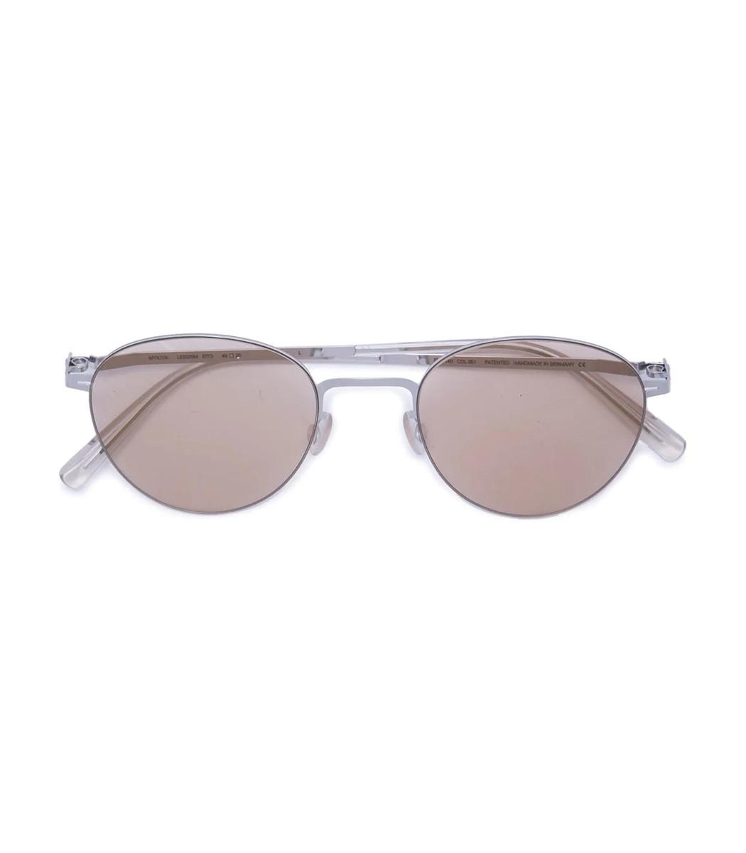 Mykita Silver Eito Sunglasses