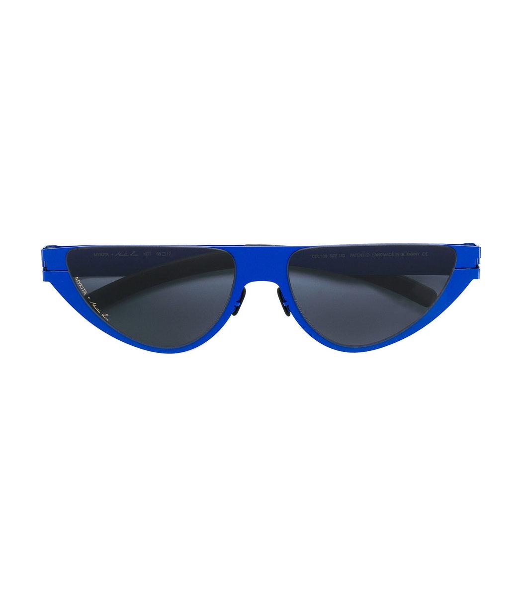 Mykita Mykita x Martine Rose Kitt Blue Cat Eye Sunglasses