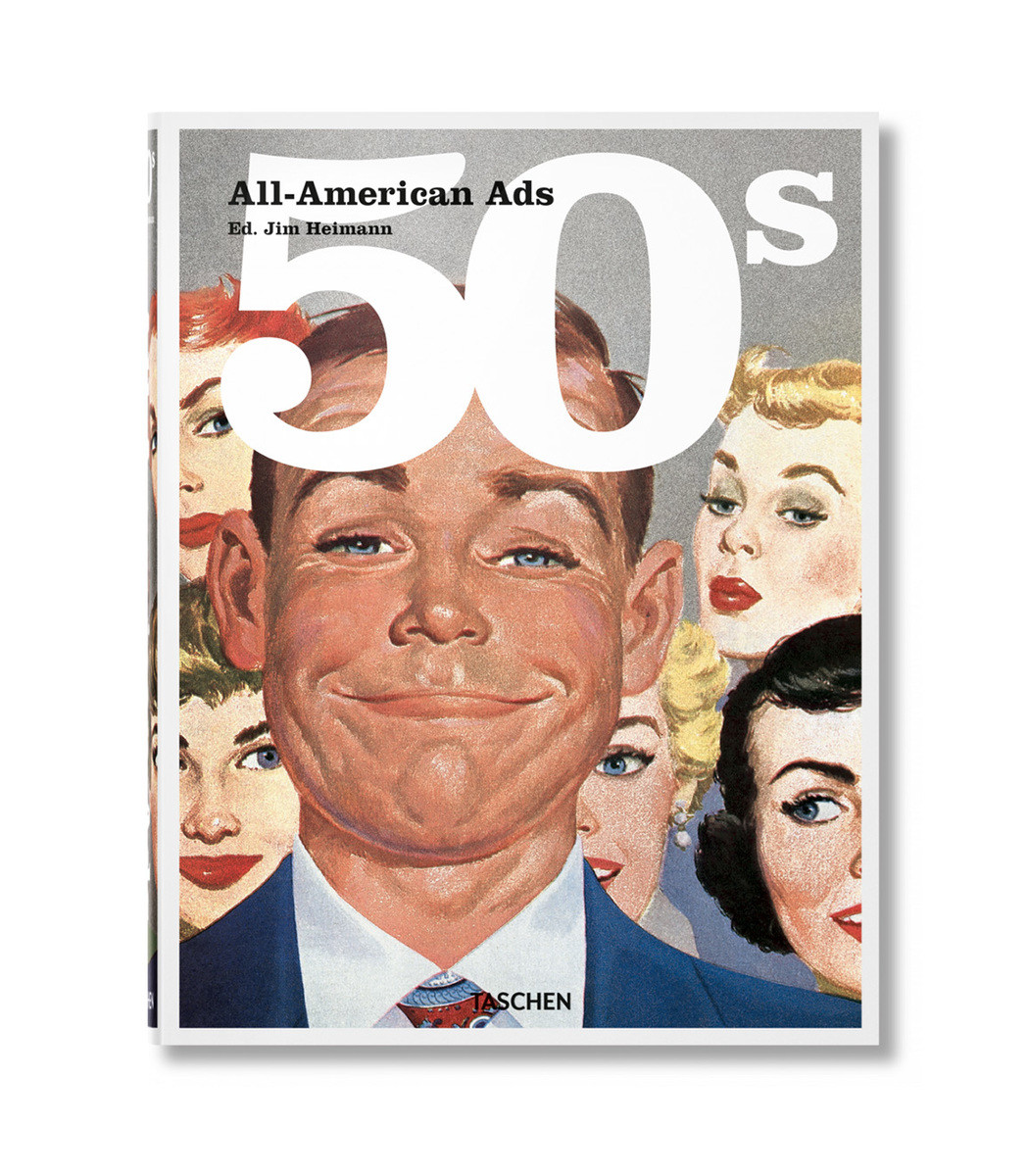 TASCHEN Multicolor All-American Ads Of The 50S