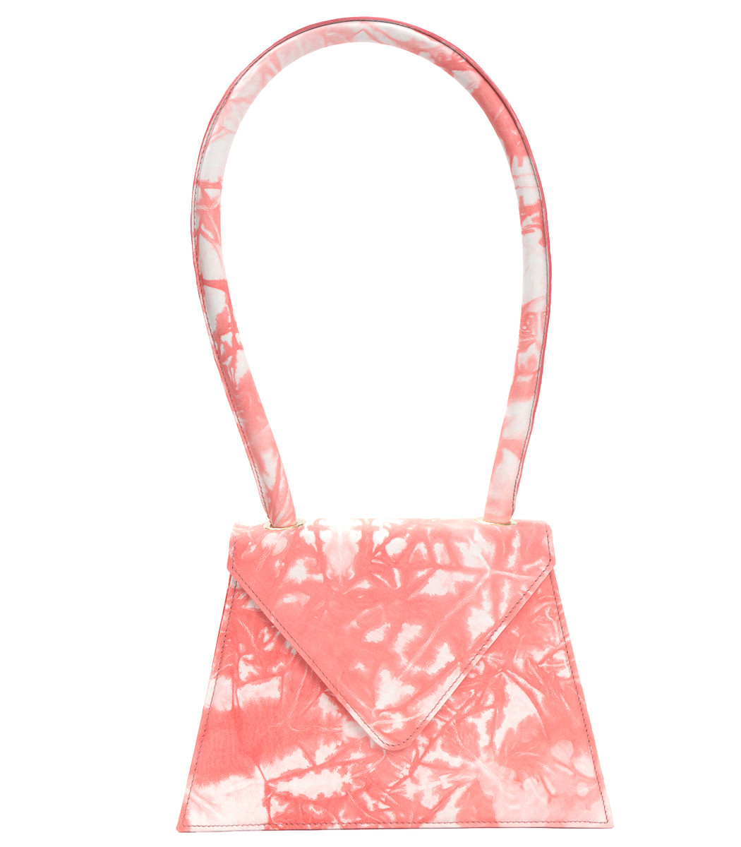 AMÉLIE PICHARD Pink & White Flat Tie Dye Bag in Multicolor