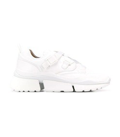 white sonnie low-top sneakers