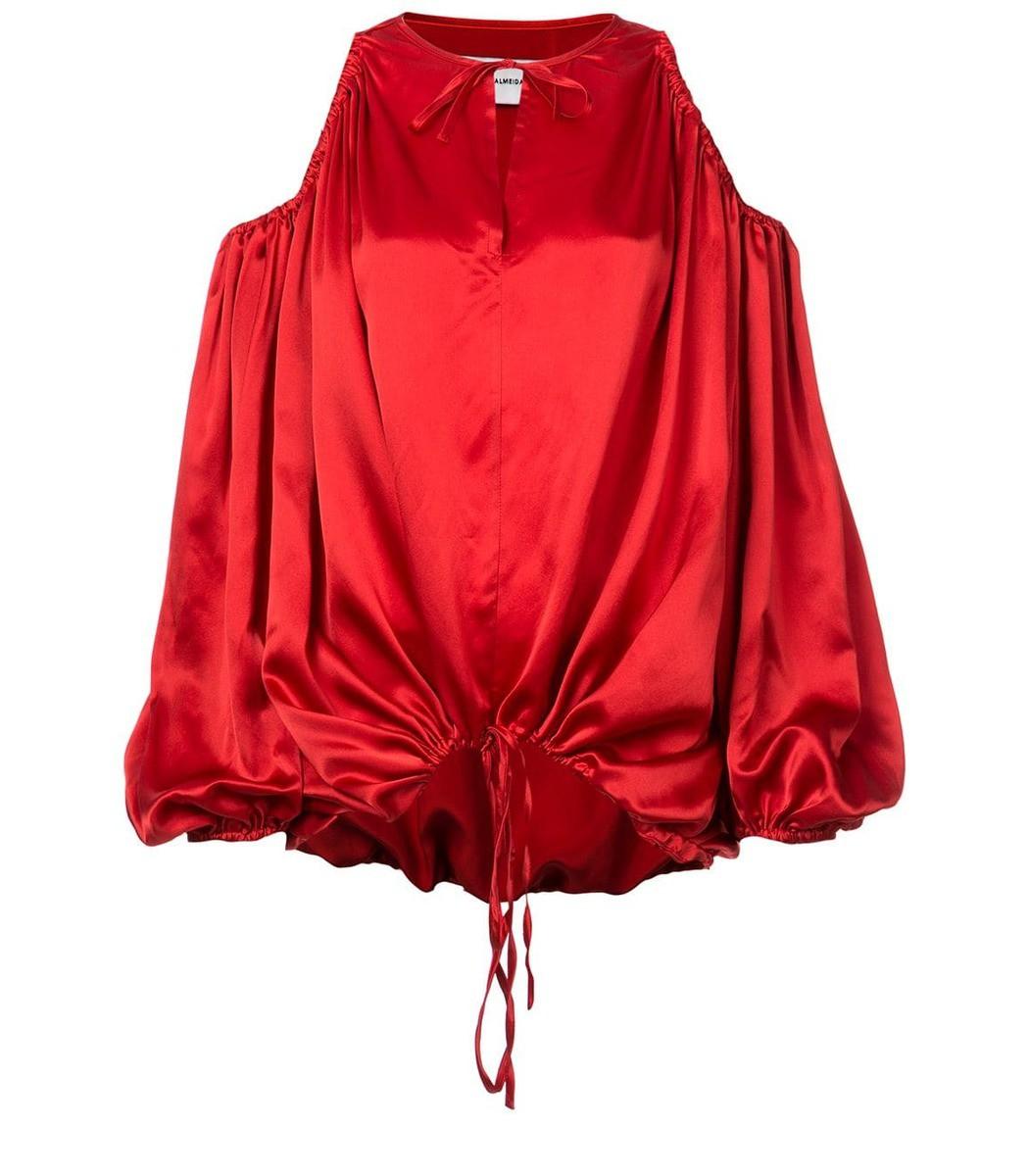 Marques' Almeida cut-out shoulder blouse