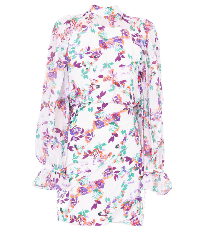 paradise print rina dress
