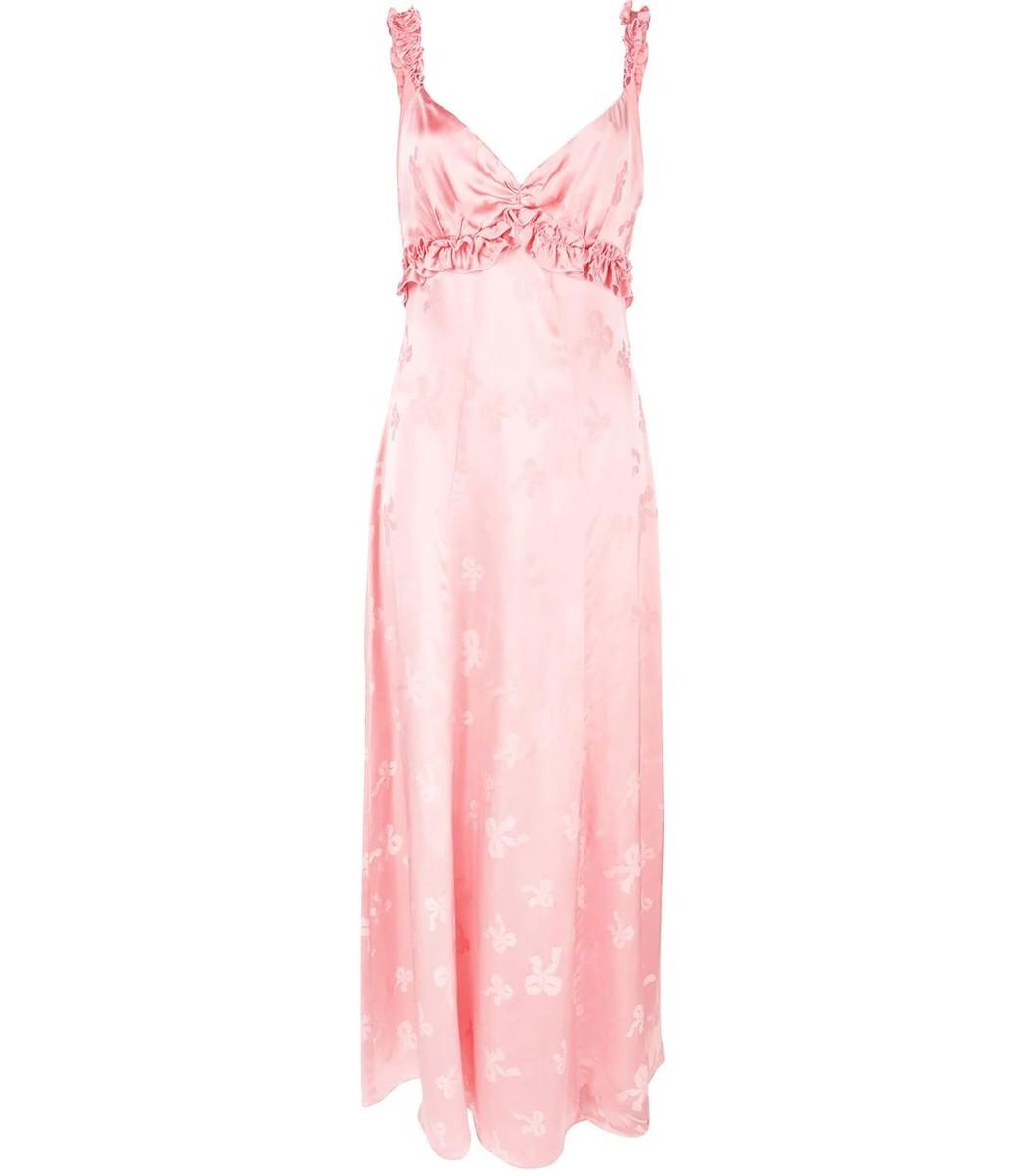 Alexa Chung Dresses Ruffle Trim Cami Dress