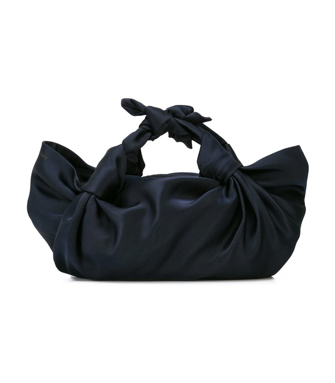 knotted hand bag