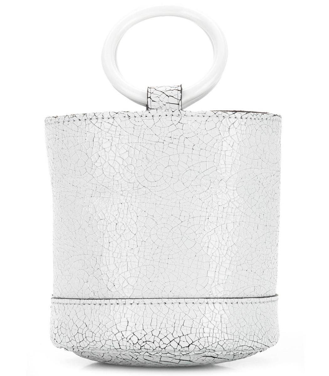 Simon Miller Crackled Mini Bucket Bag