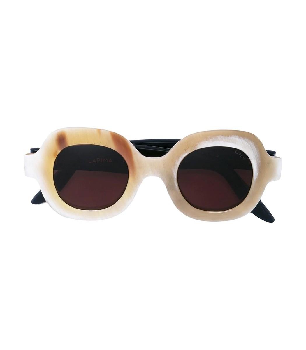 LAPIMA Cream Catarina Sunglasses