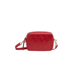 red mini camera case crossbody bag