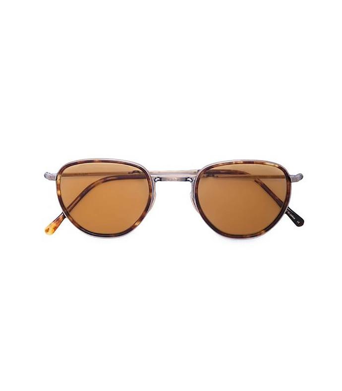 0bacc36c03a09 Garrett Leight. Tortoiseshell Round Sunglasses