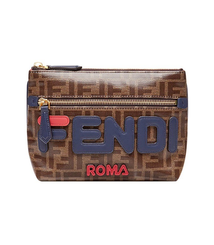 fendi mania pyramid bag