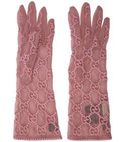 gg tulle gloves