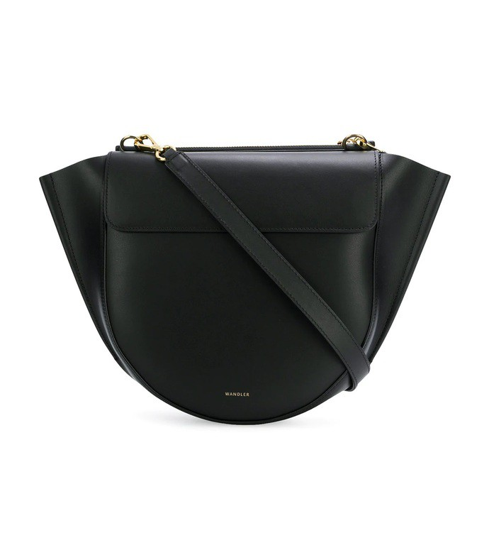 black medium hortensia bag