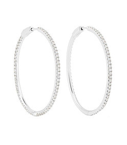 fonda diamond hoops