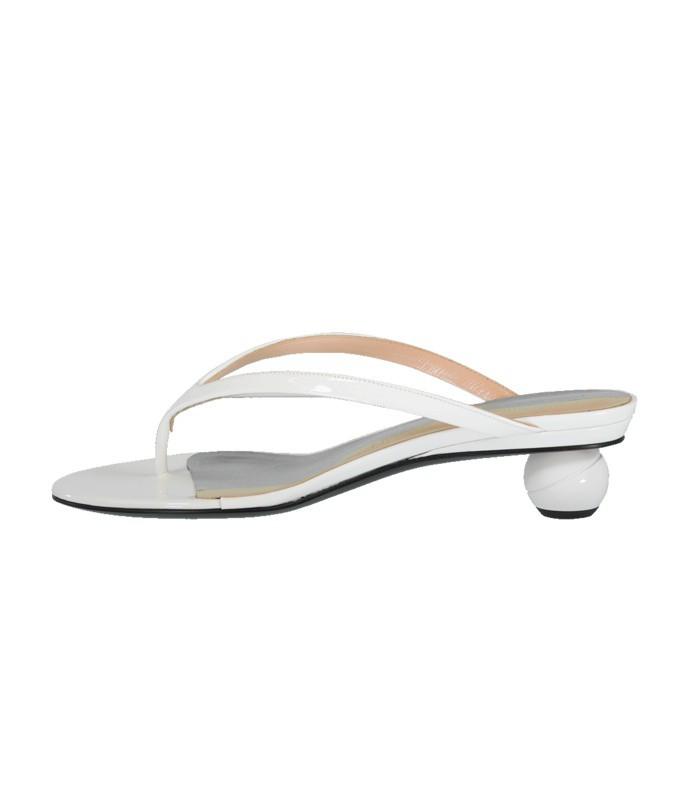 thong ball heel sandal