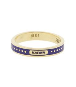 karma thin band ring