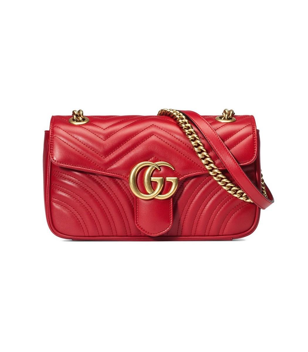 b6708d6fb7ec Home / Gucci / GG Marmont Small Matelass' Shoulder Bag. prev