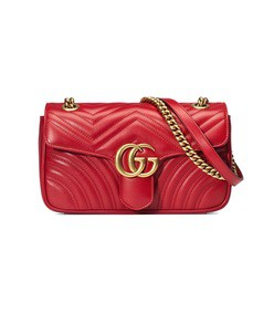 gg marmont small matelass' shoulder bag