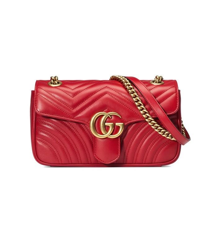 gg marmont small matelass' shoulder bag