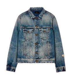 landscape denim jacket