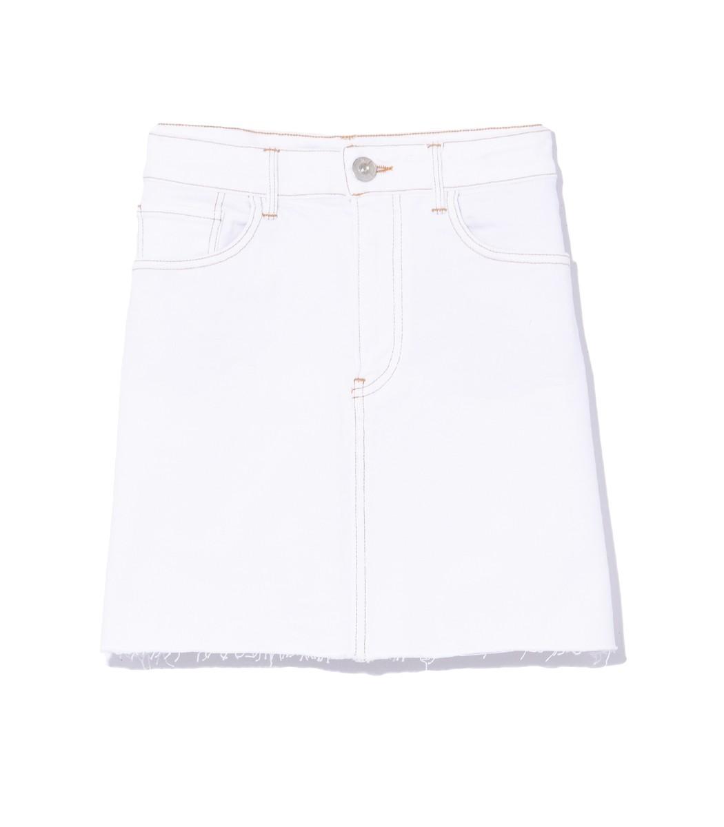 3x1 Celine Skirt in Winter White