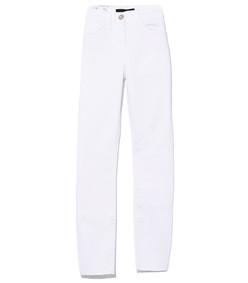 white tear w2 skinny crop pant