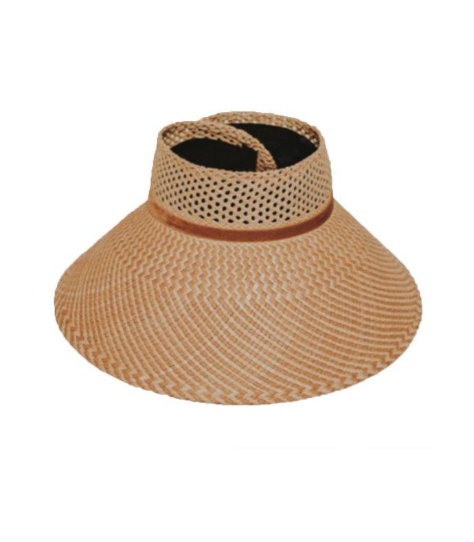 magnolia perforated visor hat