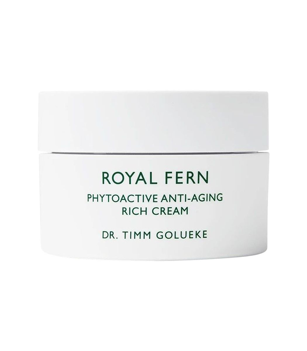 Royal Fern Phytoactive Rich Cream In White