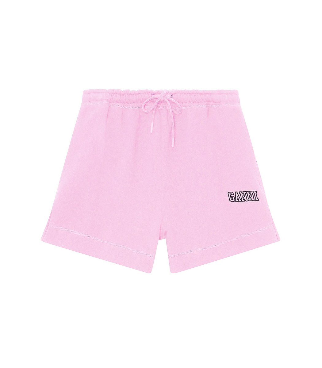 Ganni Software Isoli Shorts in Sweet Lilac