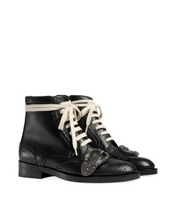 queercore brogue boot