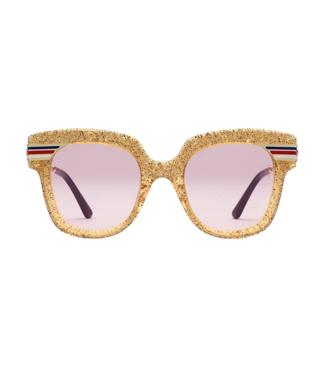 899fe0259023c Gucci Glitter Acetate Sunglasses - ShopBAZAAR
