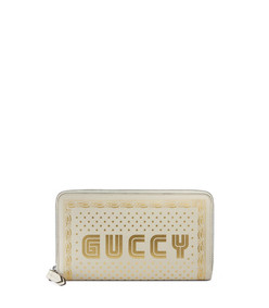 guccy zip around wallet