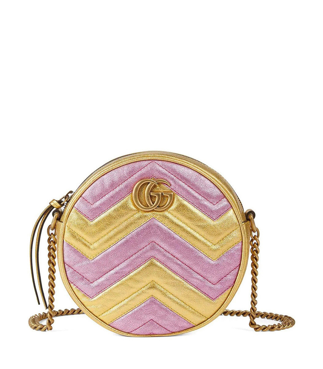 013f58573bff21 Home / Gucci / GG Marmont Round Shoulder Bag. prev