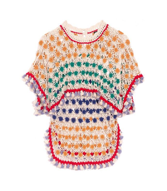 delma sweater in ochre