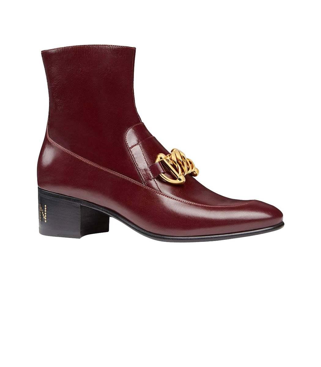 Gucci Boots Horsebit Chain Boot