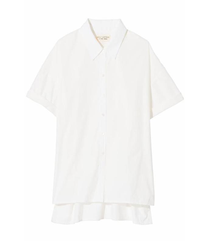 nadia shirt in white