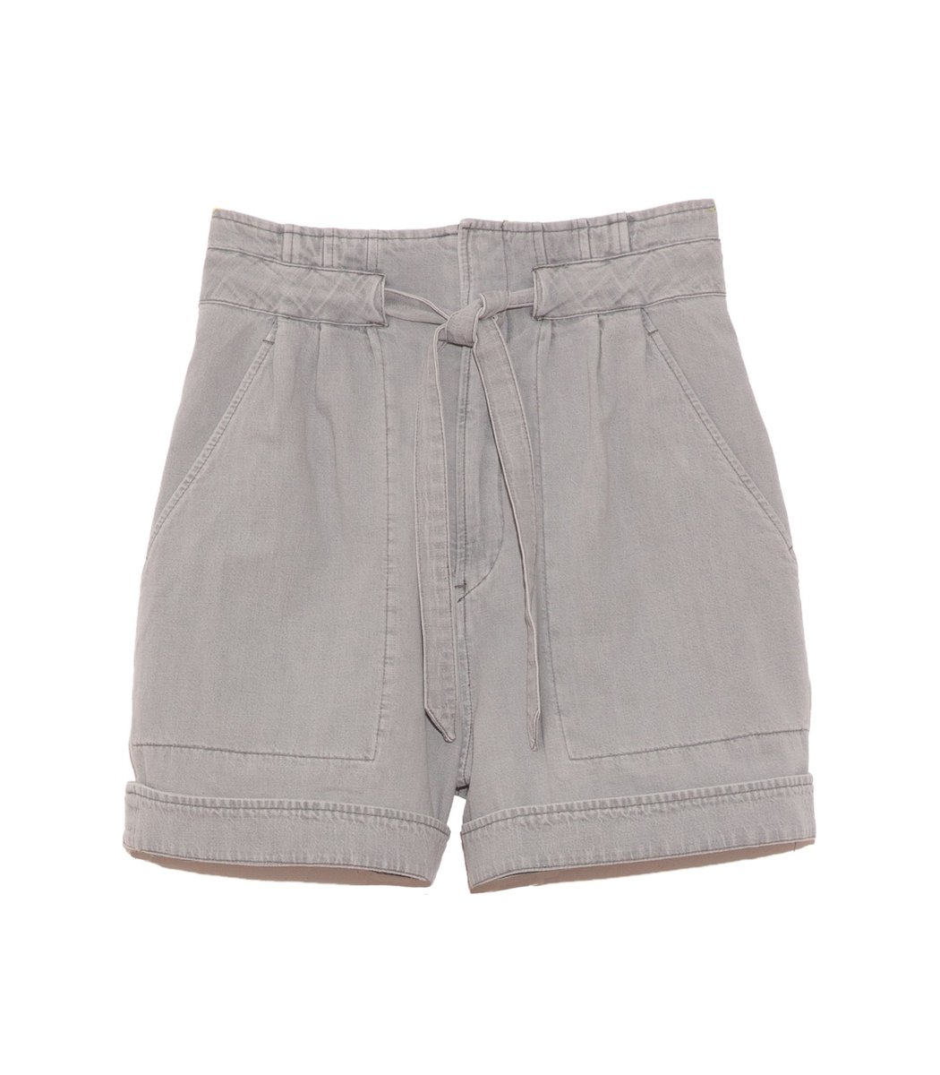 Isabel Marant Étoile Marius Short in Light Grey