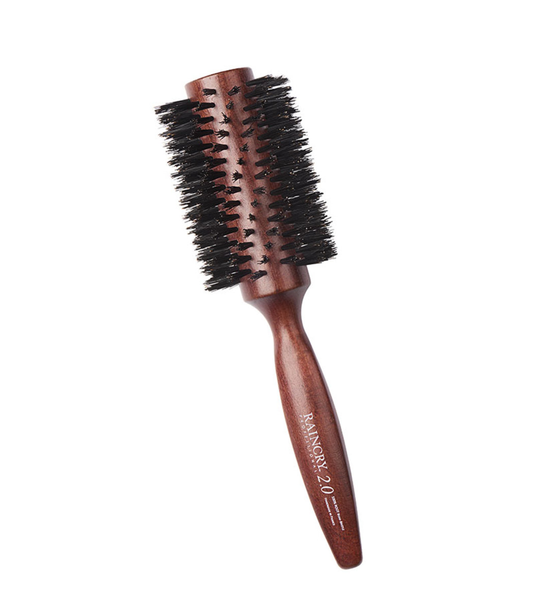 RAINCRY Pure Boar Bristle Smoothing Brush Large