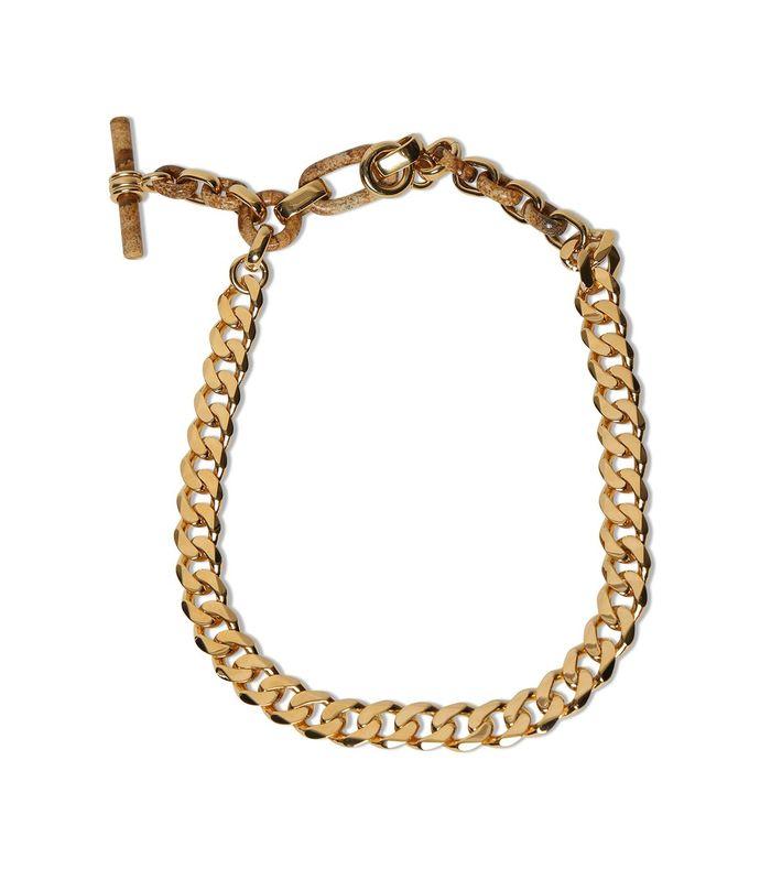 groumette chain necklace