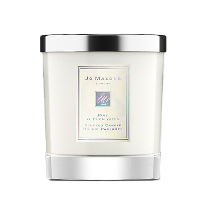 pine & eucalyptus home candle