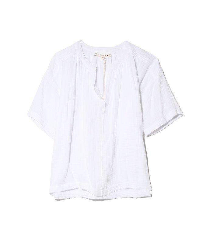 britton top in white wash