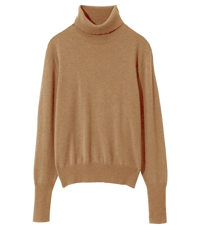 ralphie sweater in camel