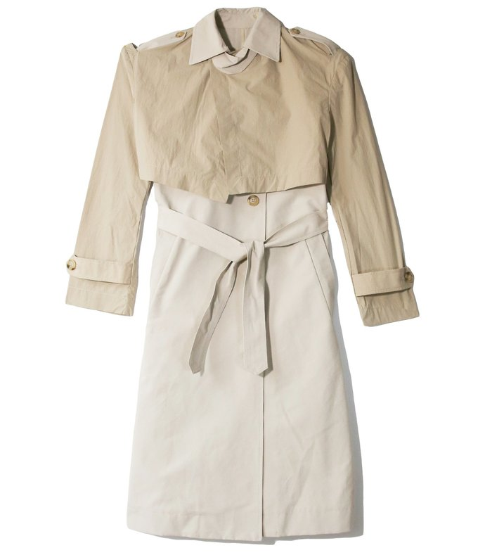 ramya coat in beige