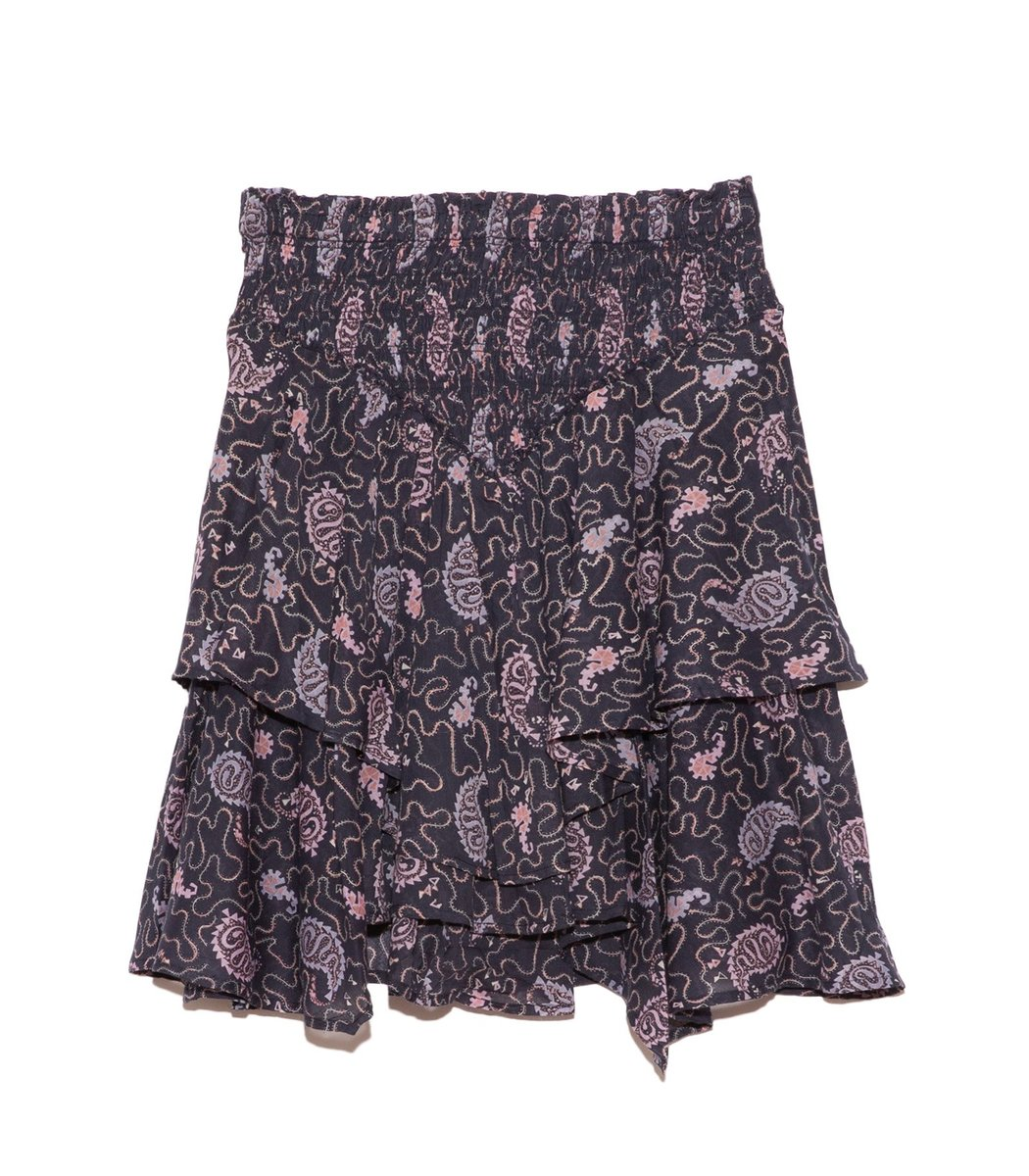 Isabel Marant Étoile Also Skirt in Faded Night