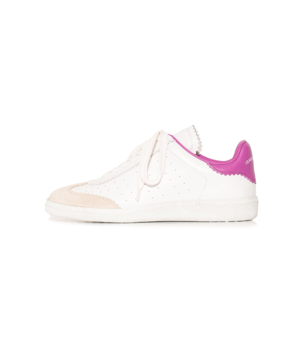 Isabel Marant Suedes Bryce Sneaker in Pink