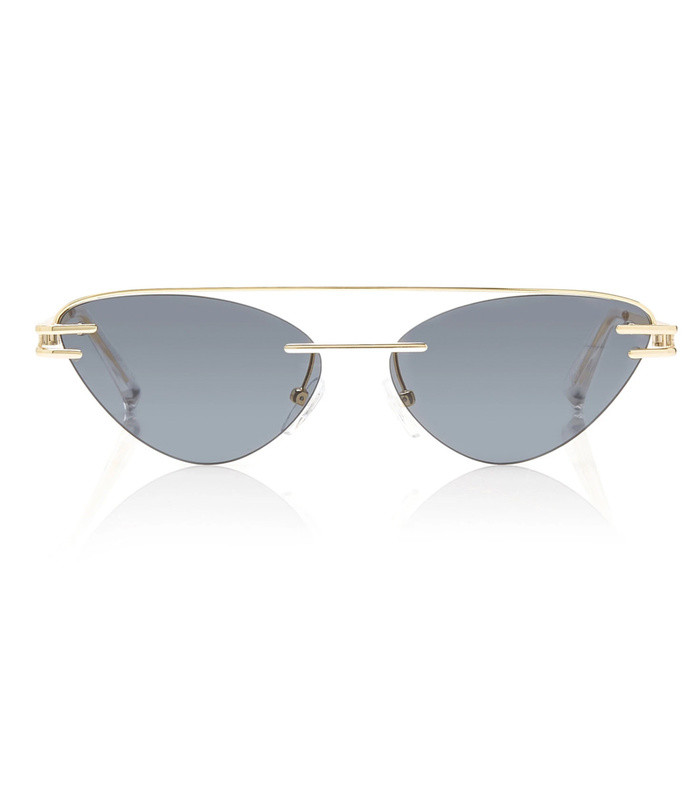 the coupe metal cat-eye sunglasses