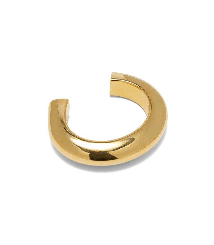 ridge cuff in gold