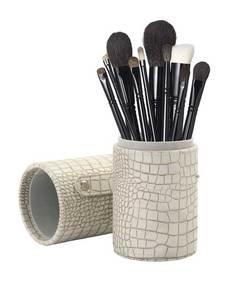 12 piece brush set stone case